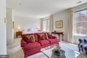 Sitting area in primary suite - 8619 TERRACE GARDEN WAY, BETHESDA