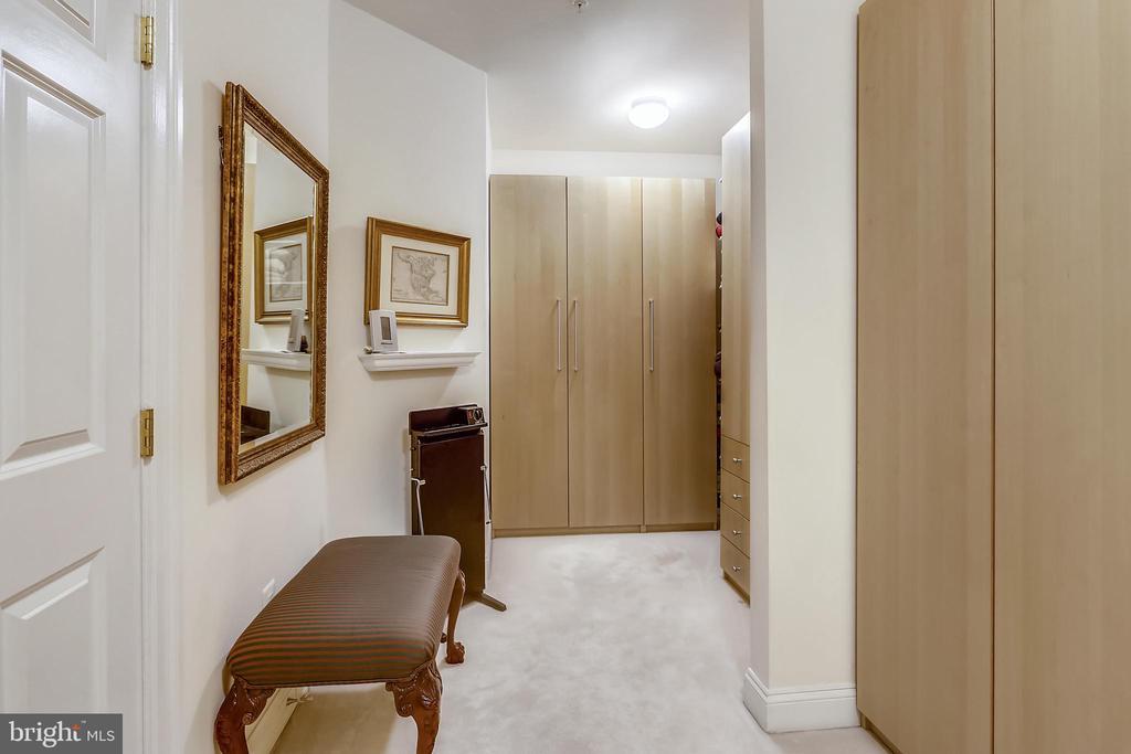 Large walk in closet - 8619 TERRACE GARDEN WAY, BETHESDA