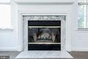 Wood burning fireplace - 19924 GATESHEAD CIR #46, GERMANTOWN