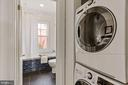 Convenient laundry on upper level - 1838 VERMONT AVE NW, WASHINGTON