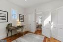 2nd bedroom/office has large skylight. See 3D tour - 1838 VERMONT AVE NW, WASHINGTON