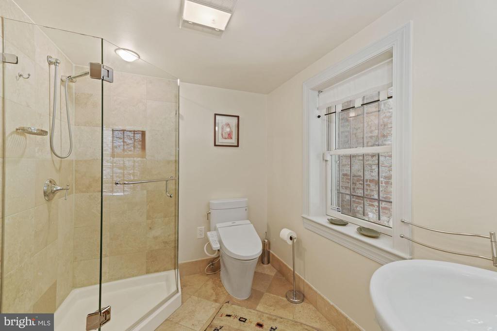 Lower Level Bathroom - 709 E CAPITOL ST SE, WASHINGTON
