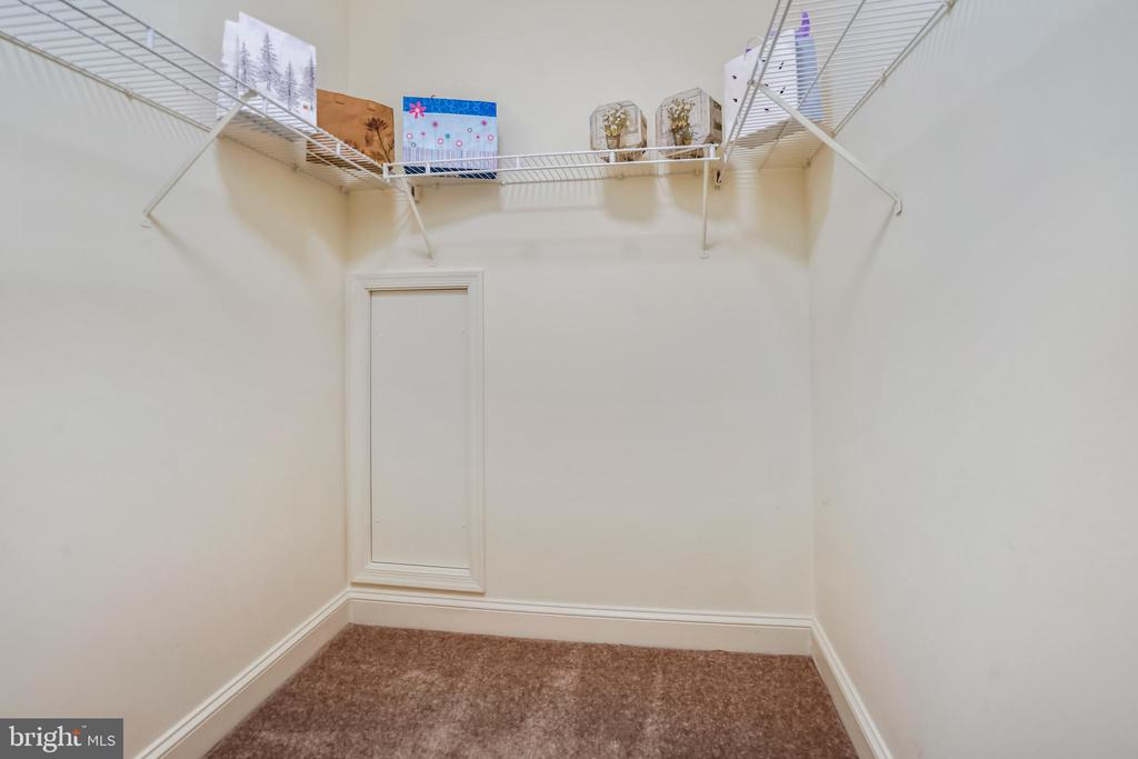 Primary Suite with two walk-in closets - 1323 SUNDIAL DR, RESTON