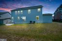 Rear yard - 17152 BELLE ISLE DR, DUMFRIES