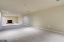 Huge Basement Rec Room - 4005 LAKE BLVD, ANNANDALE