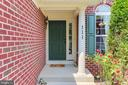 Welcoming front entrance - 111 MAROON CT, FREDERICK