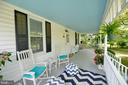 Large front porch for relaxing - 410 S NURSERY AVE, PURCELLVILLE