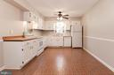 Large eat-in kitchen - 509 VALLEY VIEW AVE SW, LEESBURG