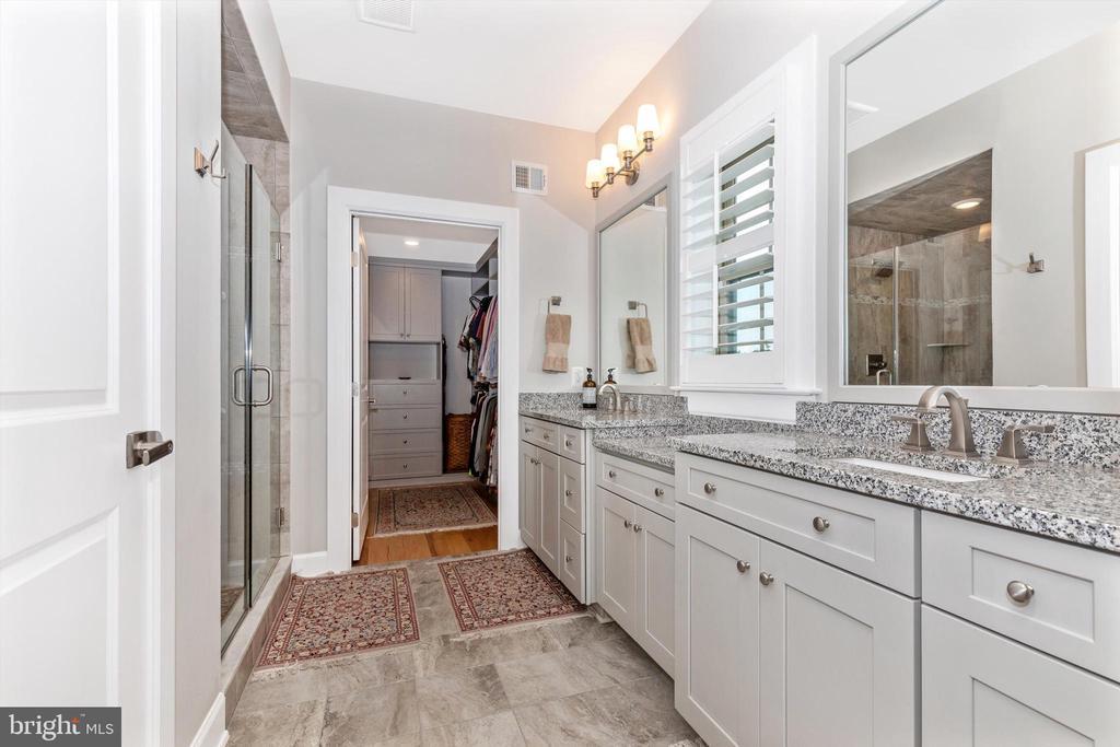 Upgraded, primary en-suite bathroom - 3835 FULHAM RD, FREDERICK