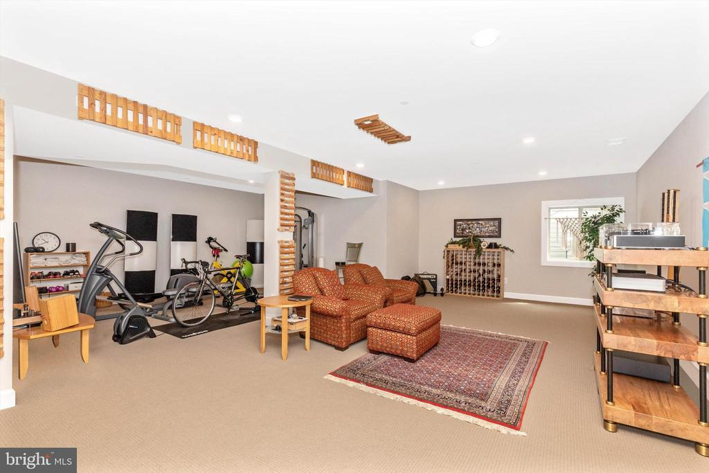 Lower Level Rec Room & Exercise Room - 3835 FULHAM RD, FREDERICK
