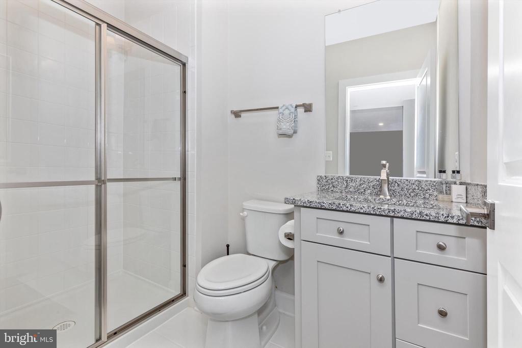 Lower Level Full Bath - 3835 FULHAM RD, FREDERICK