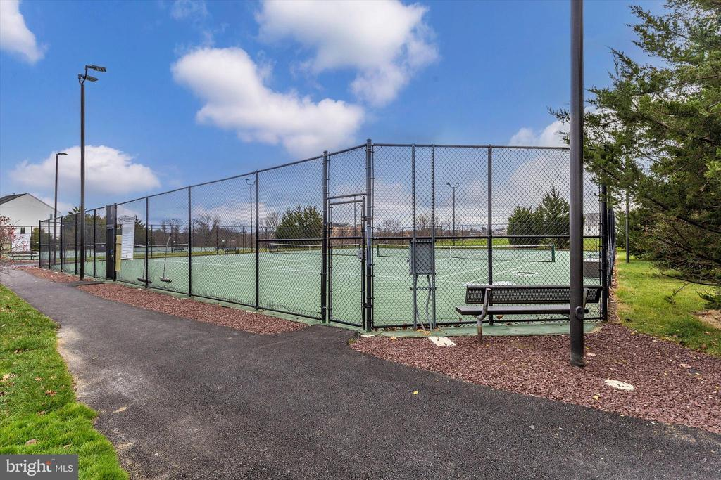 Community tennis - 3835 FULHAM RD, FREDERICK