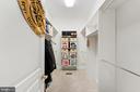 Master walk-in closet - 4346 BASFORD RD, FREDERICK