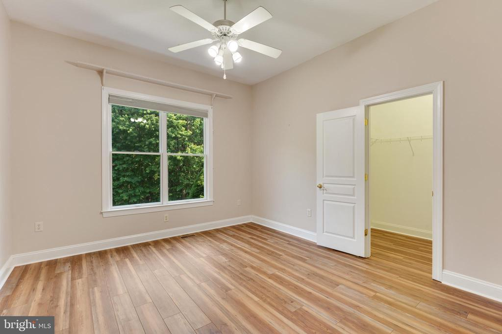 3rd bedroom has LVP Flooring - 4346 BASFORD RD, FREDERICK