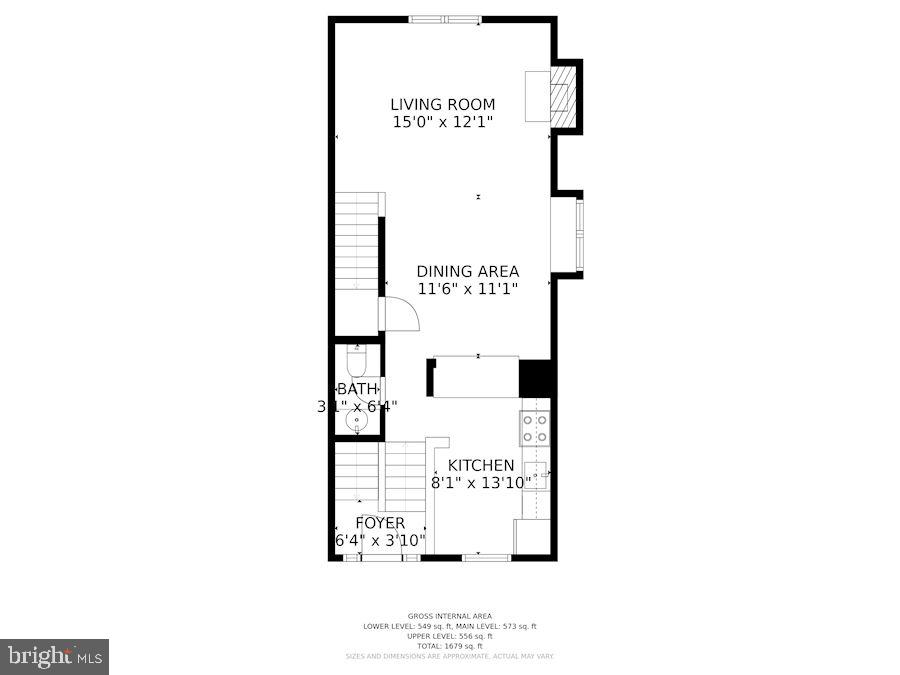 Main level - 920 S ROLFE ST, ARLINGTON