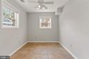 Bedroom three on lower level - 920 S ROLFE ST, ARLINGTON