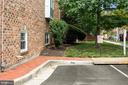 Assigned parking space adjacent to the house - 920 S ROLFE ST, ARLINGTON