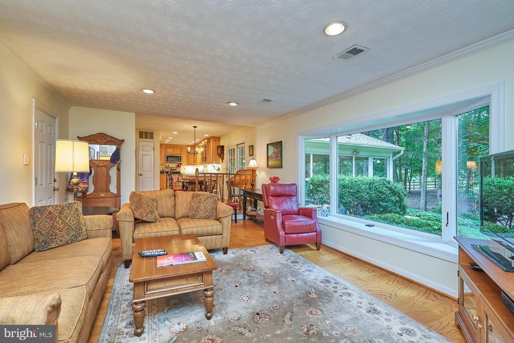 Huge Picture Window Overlooking the Rear Yard - 11902 HOLLY SPRING DR, GREAT FALLS