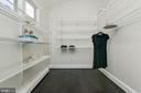 Incredible walk in closet with natural light - 10106 GREENOCK RD, SILVER SPRING