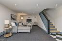 Finished lower level with recreation room - 10106 GREENOCK RD, SILVER SPRING
