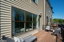Deck  - photo shown is of similar home - 42362 ZENITH TER, ASHBURN
