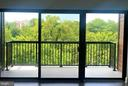 View from your living space - 44691 WELLFLEET DR #208, ASHBURN
