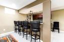 Great Bar for Parties - 23384 MORNING WALK DR, BRAMBLETON