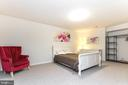 Lower level bedroom 2 or office - 23384 MORNING WALK DR, BRAMBLETON