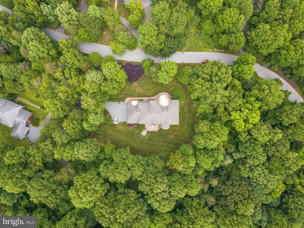 Aerial View - 11536 MANORSTONE LN, COLUMBIA