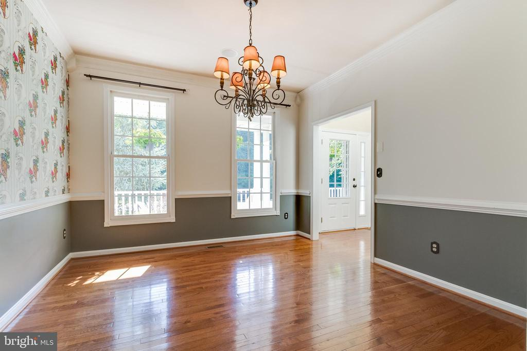 Separate Dining Room for special occasions! - 12113 SAWHILL BLVD, SPOTSYLVANIA