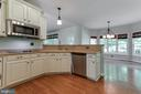 Double ovens and lots of counter space for prep! - 12113 SAWHILL BLVD, SPOTSYLVANIA
