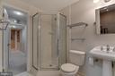 Lower level full bath - 19909 HAMIL CIR, MONTGOMERY VILLAGE