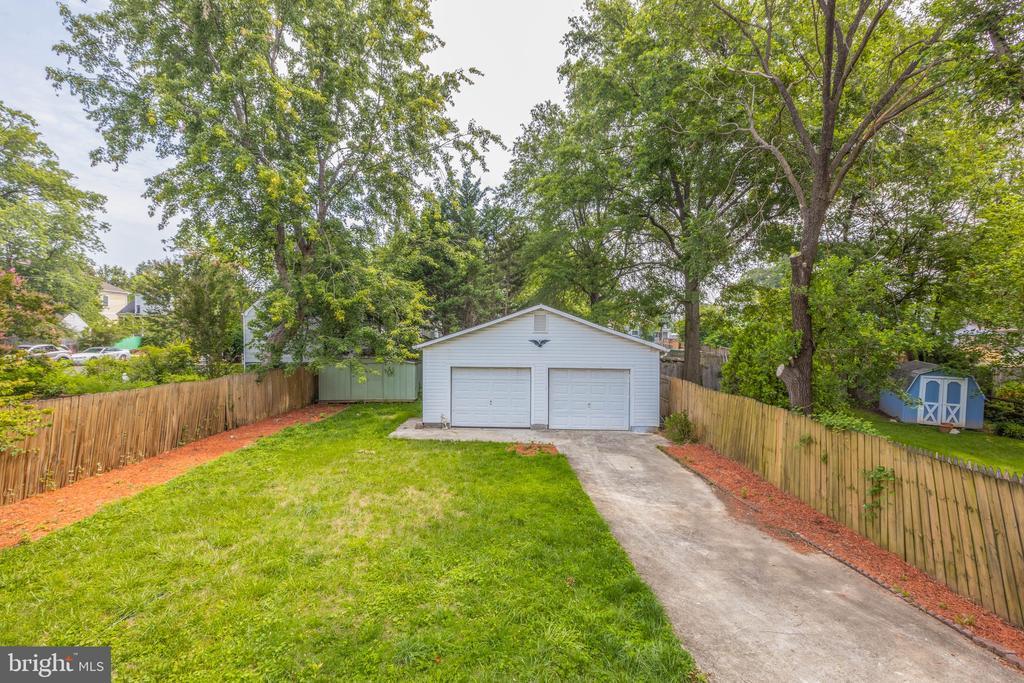Backyard - 1805 S POLLARD ST, ARLINGTON