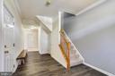 Foyer new flooring 2020 - 502 TWINTREE TER NE, LEESBURG