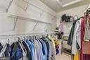 walk -in closet - 502 TWINTREE TER NE, LEESBURG