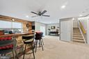 Fully finished basement with recessed lighting - 97 SANCTUARY LN, STAFFORD