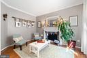 Formal Living room with Fireplace - 97 SANCTUARY LN, STAFFORD