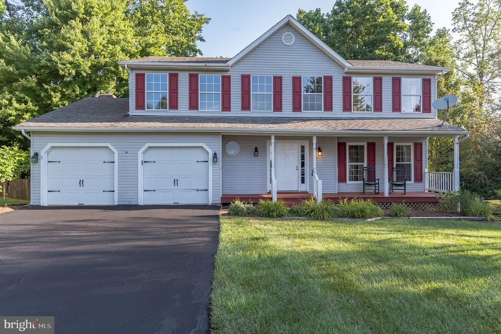 Beautiful home at the end of a cul de sac - 14 JUSTIN CT, STAFFORD