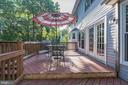 Large deck for outdoor entertaining - 14 JUSTIN CT, STAFFORD