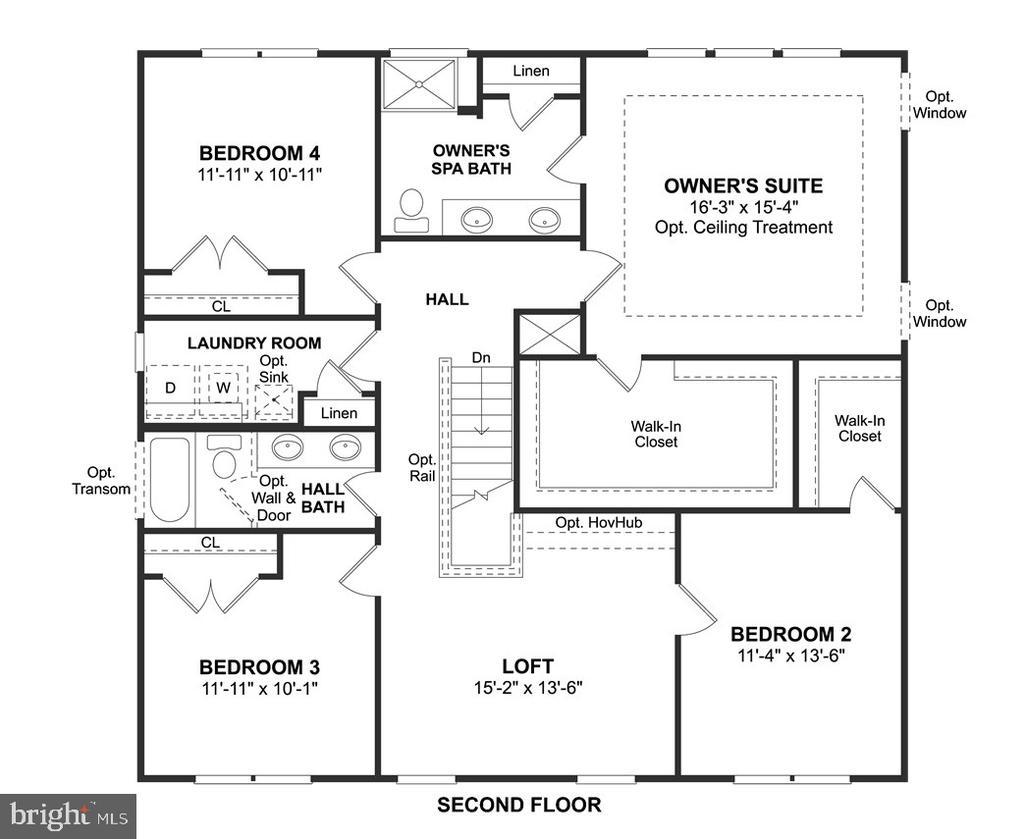 Second Floor - 2108 CONNOR CIR, MOUNT AIRY