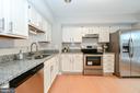 Updated kitchen - 9530 BUTTONBUSH CT, MANASSAS