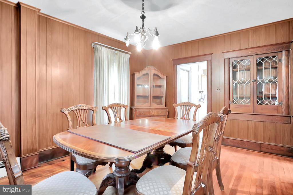 Dining room w/ built in cabinet - 898 FILLMORE ST, HARPERS FERRY