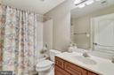Lower Level Bathroom - 18252 SHINNIECOCK HILLS PL, LEESBURG
