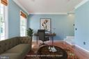 Virtually staged Living Rm or Office Space. - 12113 SAWHILL BLVD, SPOTSYLVANIA