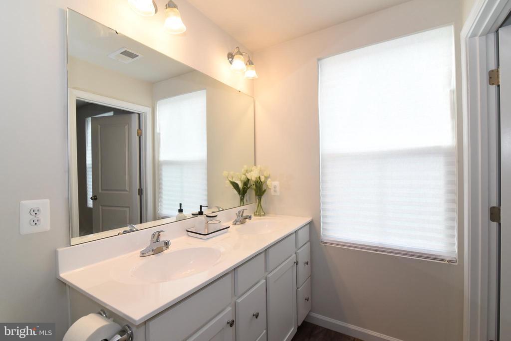 Master bathroom - 348 TICKSEED CT, BUNKER HILL