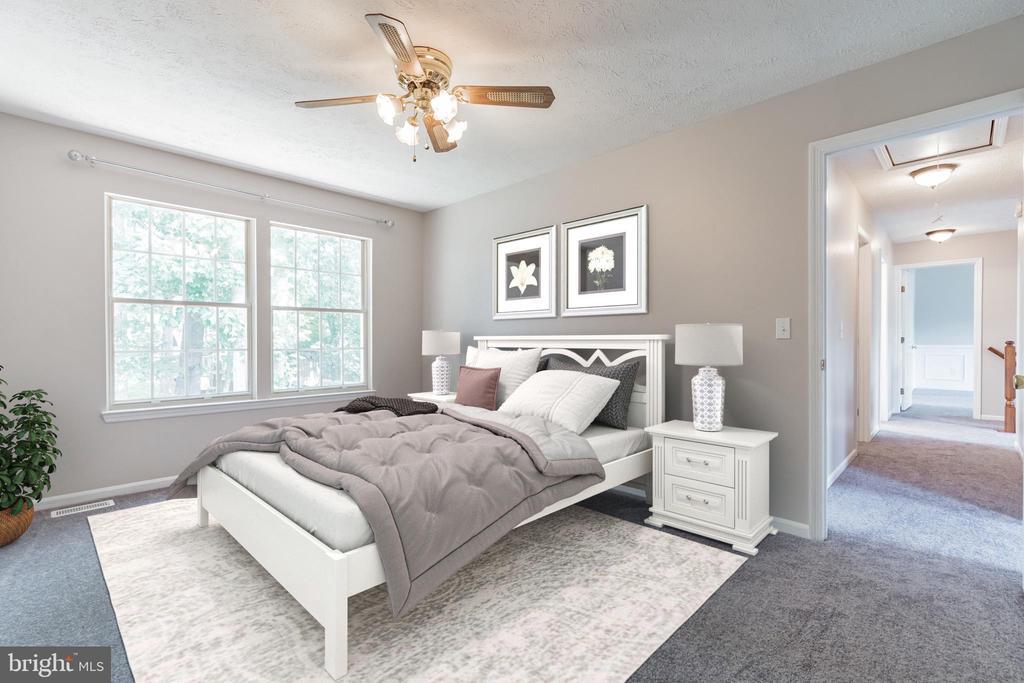 Spacious second bedroom - 6 LEE CT, STAFFORD