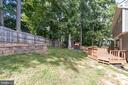 Peaceful fenced yard - 6 LEE CT, STAFFORD