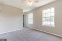 Bedrooms with ceiling fans for comfort - 6 LEE CT, STAFFORD