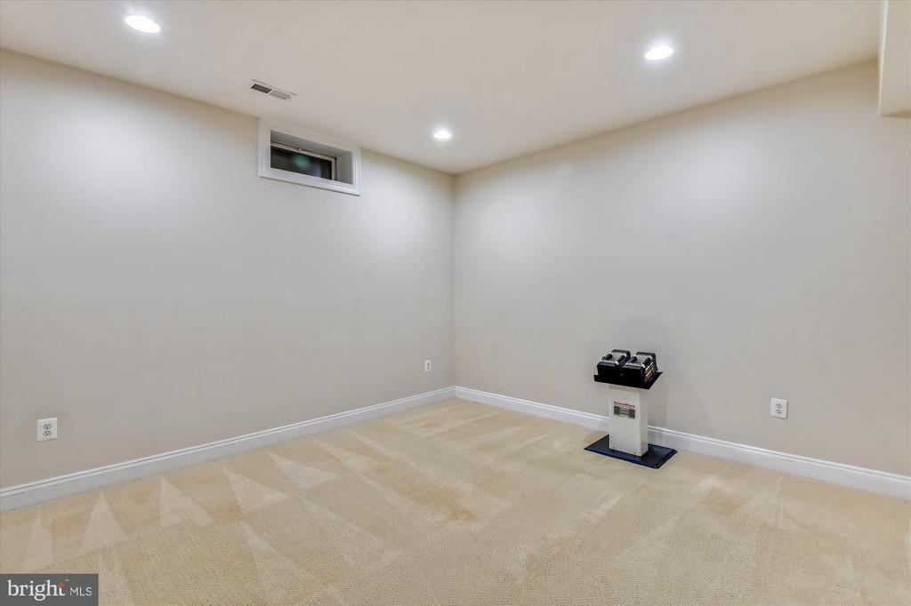 Lower Level Office/Gym Area - 8043 WINSTEAD MANOR LN, LORTON
