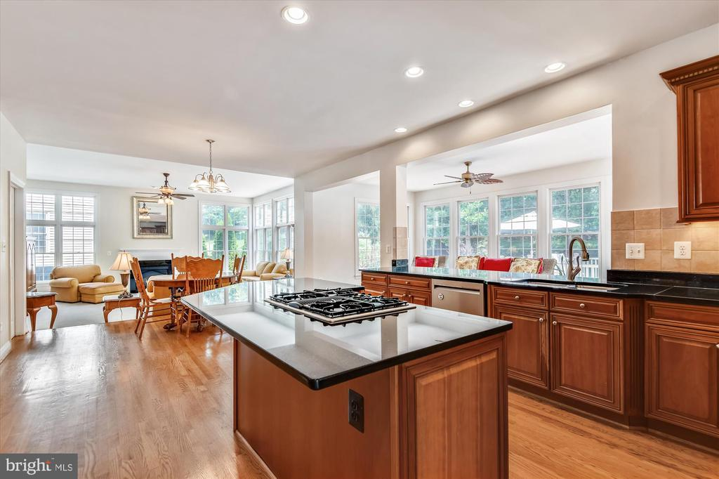Beautiful Chefs Kitchen w/High End SS Appliances - 8043 WINSTEAD MANOR LN, LORTON